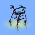 Chodzik aluminiowy, czterokołowy CA861R