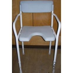 DuBaStar Krzesło prysznicowe z oparciem - MEYRA
