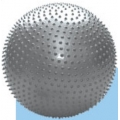 Piłka rehabilitacyjna masująca - POMARAŃCZOWA  BMB-55