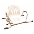 Krzesło toaletowe obrotowe INOX 540285