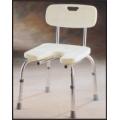 Krzesło z oparciem do higieny osobistej 98020
