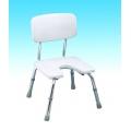 Krzesło pod prysznic w wyciętym siedziskiem CA 352L