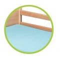 Komplet barierek drewnianych Milano do łóżek Mantovani i Haydn V214927125