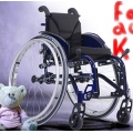 Wózek inwalidzki aktywny Sagitta Kids