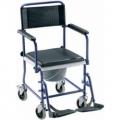 Wózek toaletowy niebieski  W1960 002 002