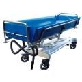 Wózek transportowo kąpielowy w poz.leżącej z regul.hydraulicz.wysokości (wózek do kąpieli) C 213