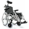 Wózek inwalidzki, komfortowy stabilizujący plecy i głowę COMFORT VCWK7C