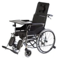 Wózek inwalidzki specjalny stabilizujący plecy i głowę z funkcją toalety VCWK7T