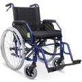 Wózek inwalidzki ręczny aluminiowy VCWK9AH