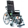 Wózek inawlidzki stabilizujący plecy i głowę  VCWK702